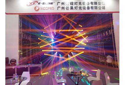 williamHill灯光广州prolight+sound展,诠释了灯光的美